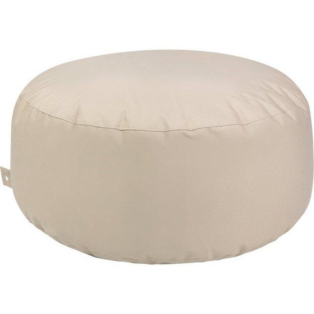 OUTBAG Cake Sitzsack Hocker Tisch plus beige