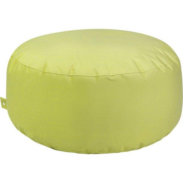 OUTBAG Cake Sitzsack Hocker Tisch plus lime/hellgrün (1 Stück)