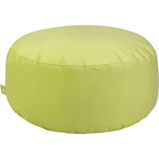 Outdoor-Sitzsack Cake, Plus, limette