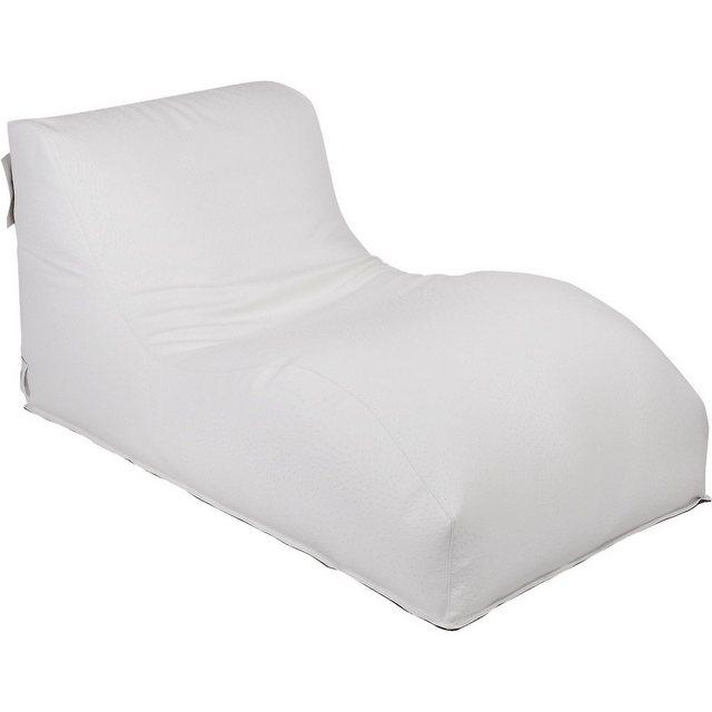OUTBAG Wave Outdoor-Liege Sitzsack deluxe weiß