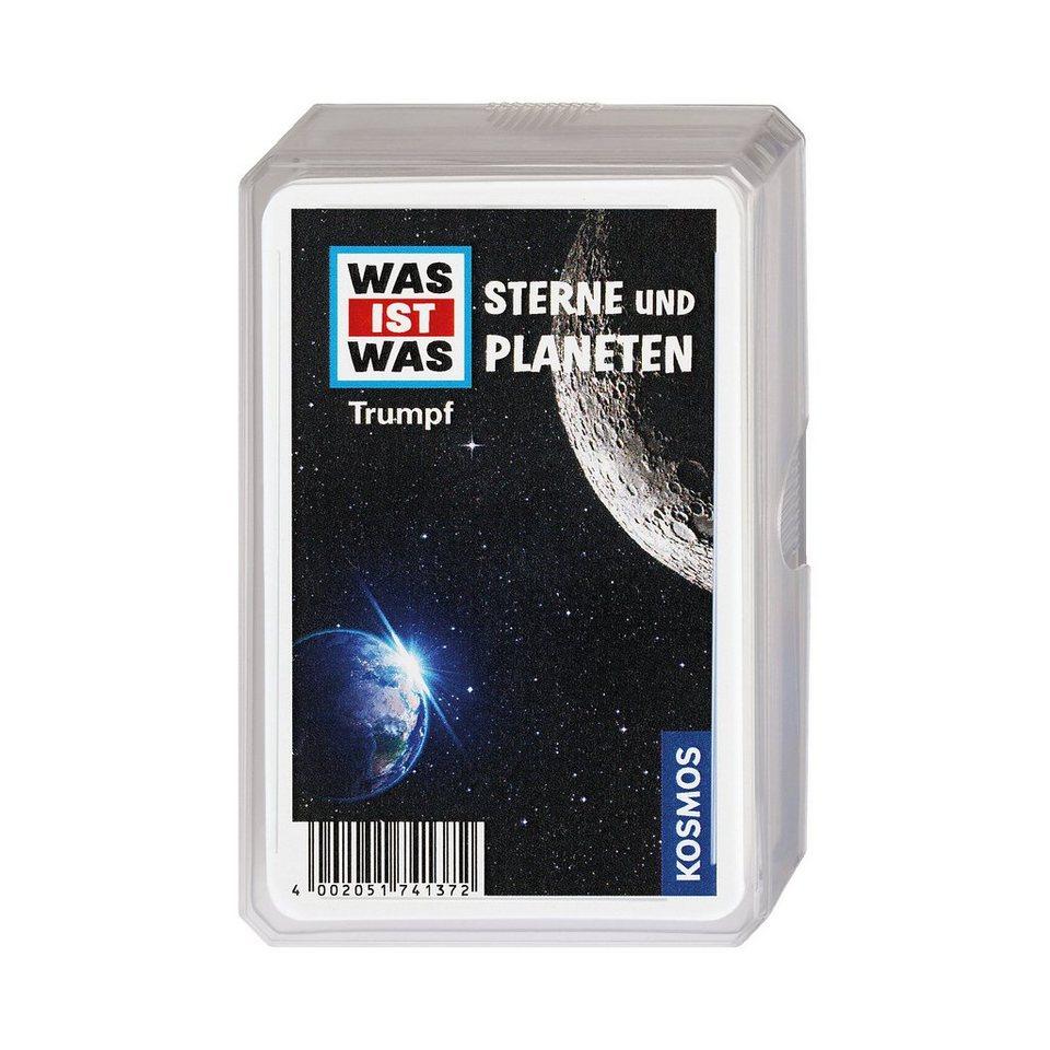 Kosmos WAS IST WAS Trumpfspiel Sterne und Planeten