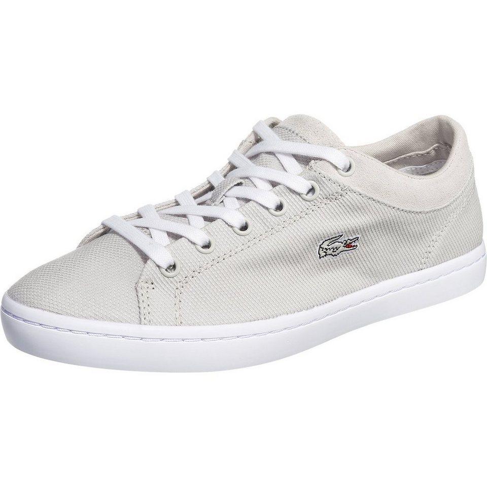 LACOSTE Straightset Sneakers in hellgrau