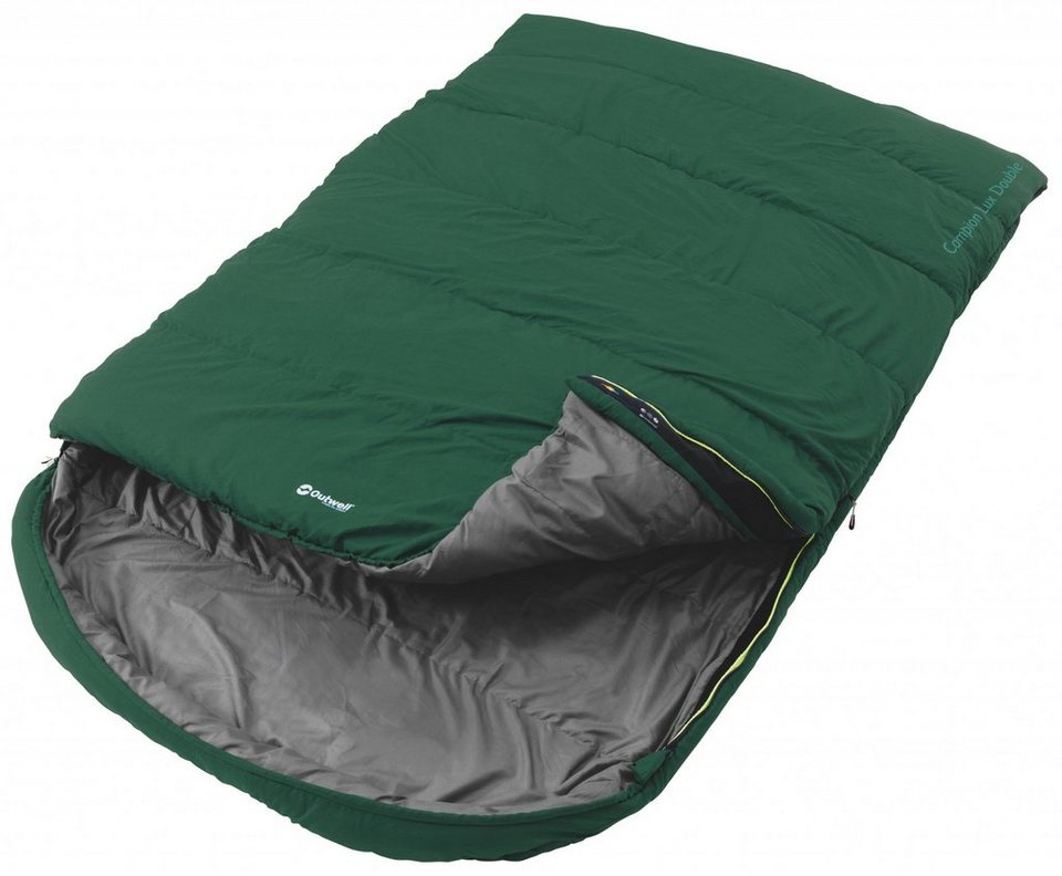 Outwell Schlafsack »Campion Lux Double Sleeping Bag« in grün