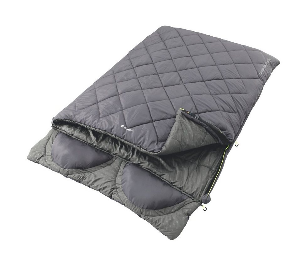 Outwell Schlafsack »Contour Lux Double Sleeping Bag« in grau