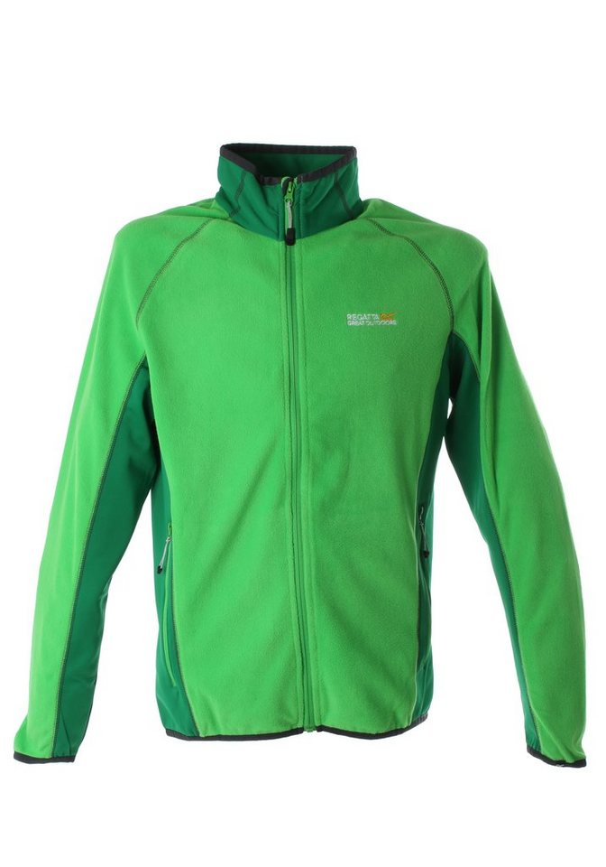 Regatta Fleecejacke »Ashton« in fairway green