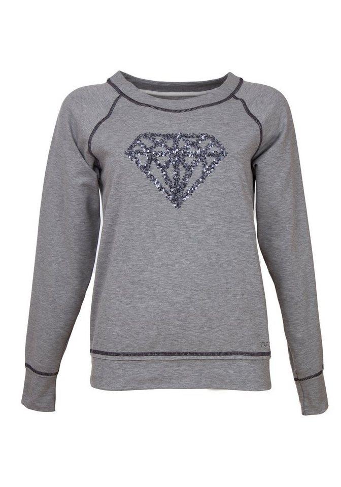 TUZZI Shirt in silver mel