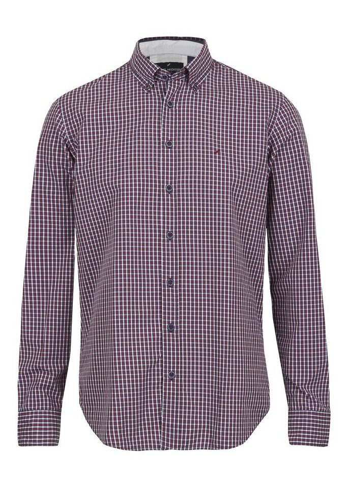 Daniel Hechter Langarmhemd Button Down »Ferrand« in raspberry