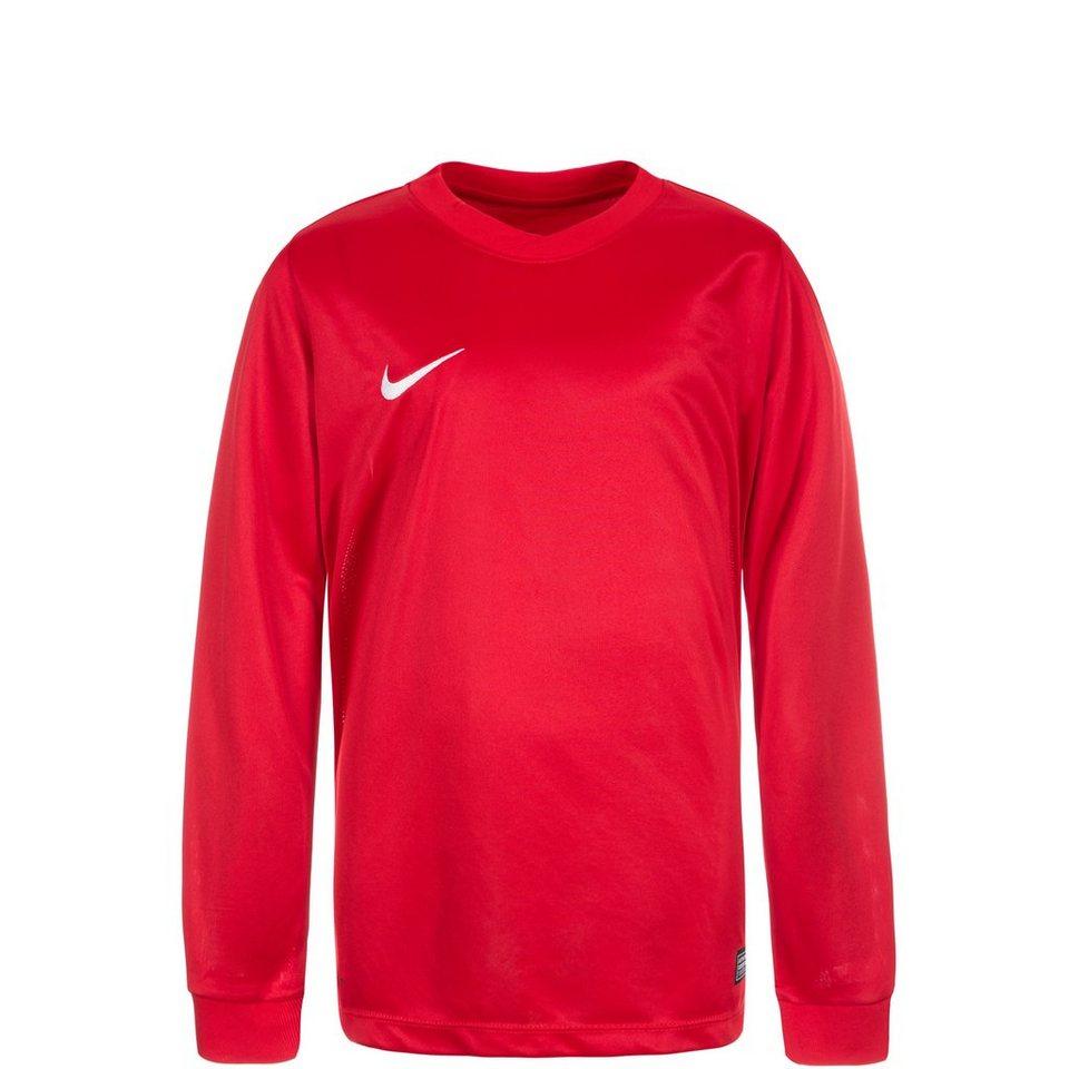 NIKE Park VI Fußballtrikot Kinder in rot / weiß