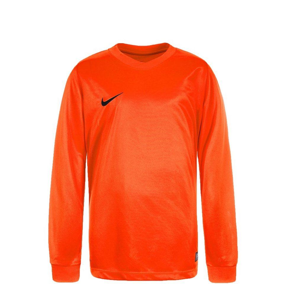 NIKE Park VI Fußballtrikot Kinder in orange / schwarz