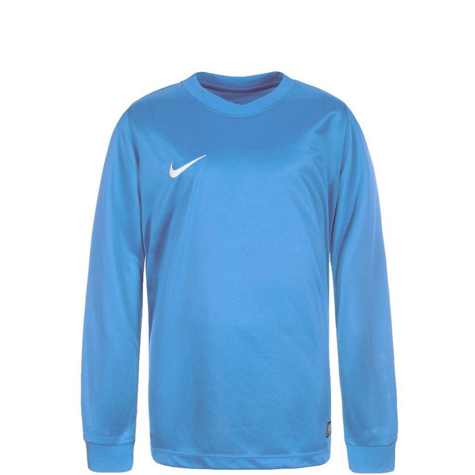 NIKE Park VI Fußballtrikot Kinder in hellblau / weiß