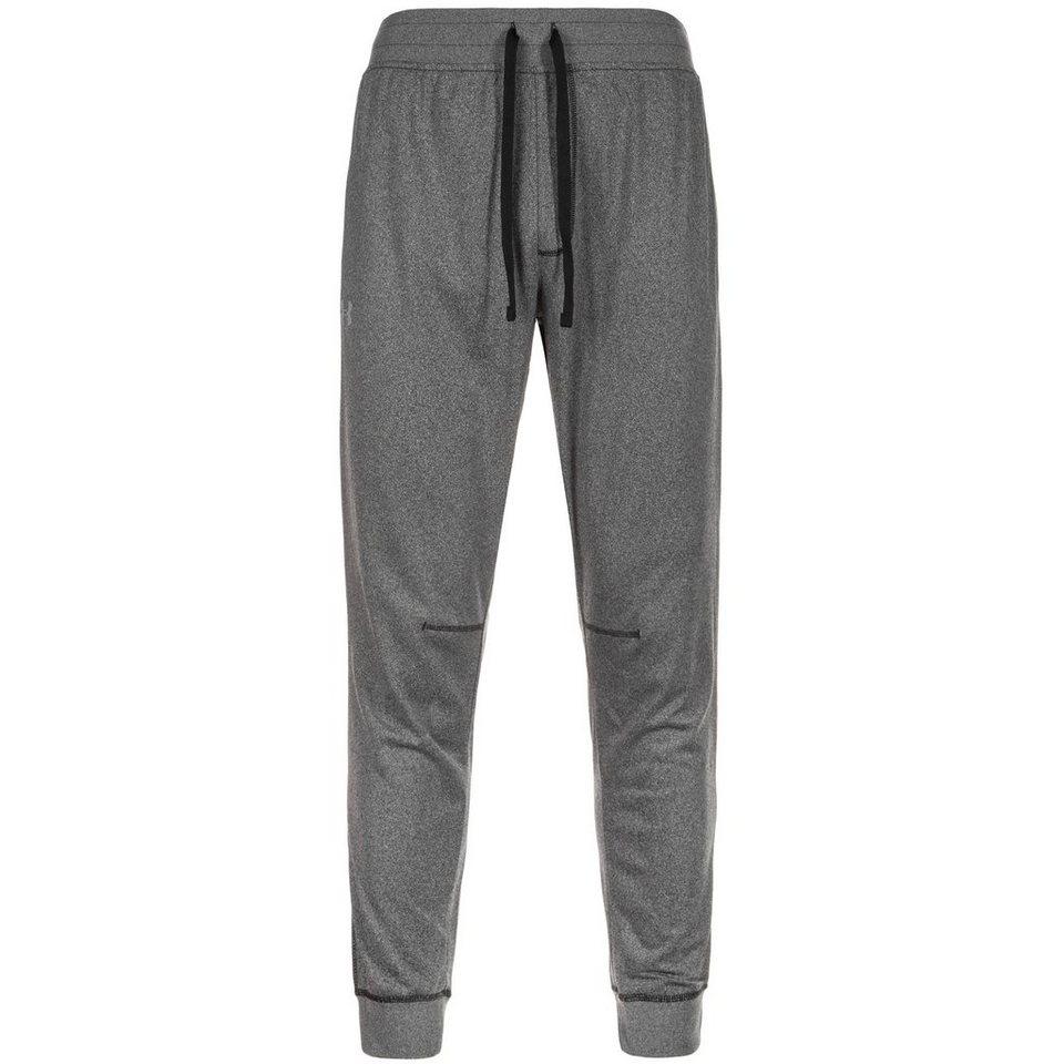 Under Armour® ColdGear Sportstyle Jogger Trainingshose Herren in grau / schwarz