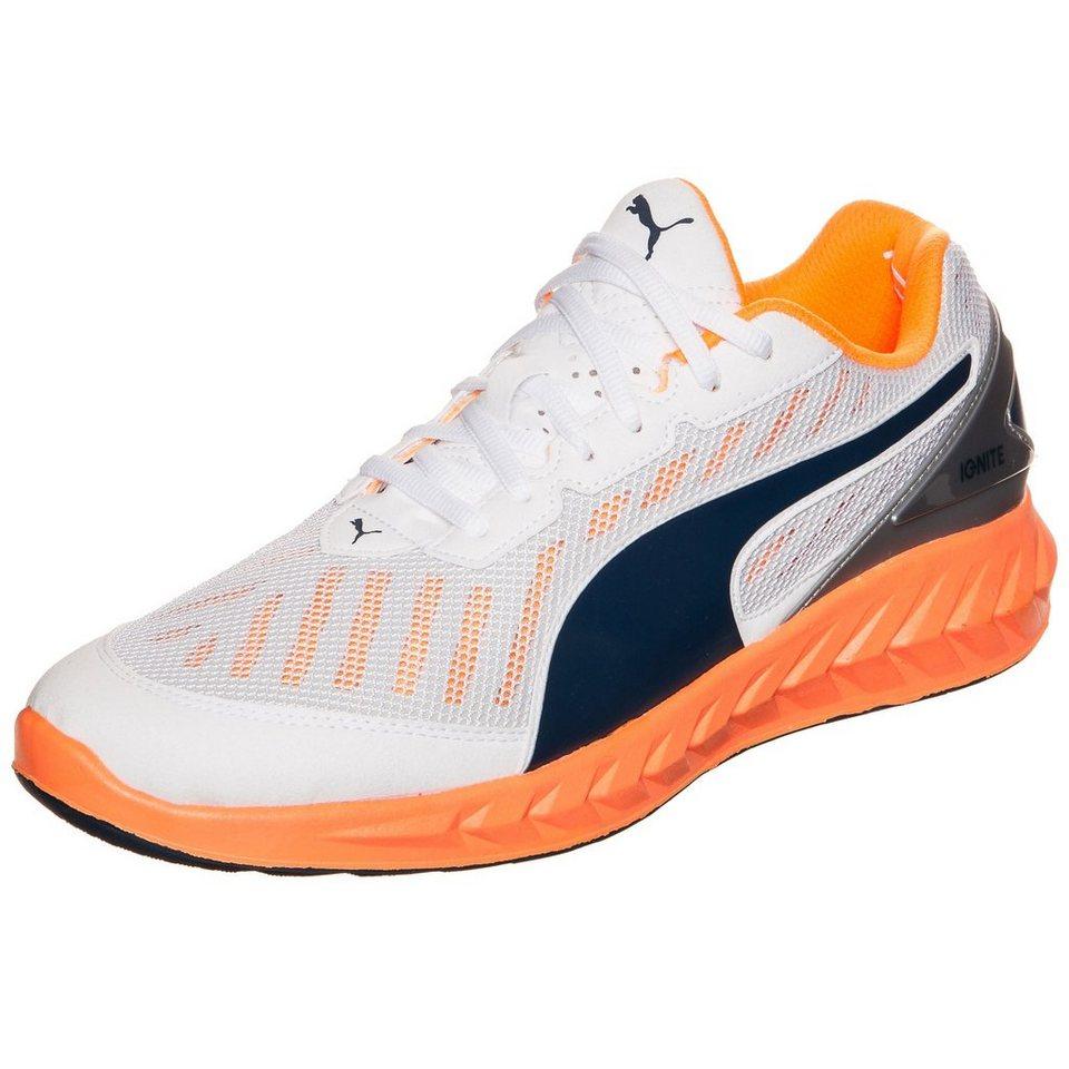PUMA Ignite Ultimate Laufschuh Herren in weiß / orange / blau