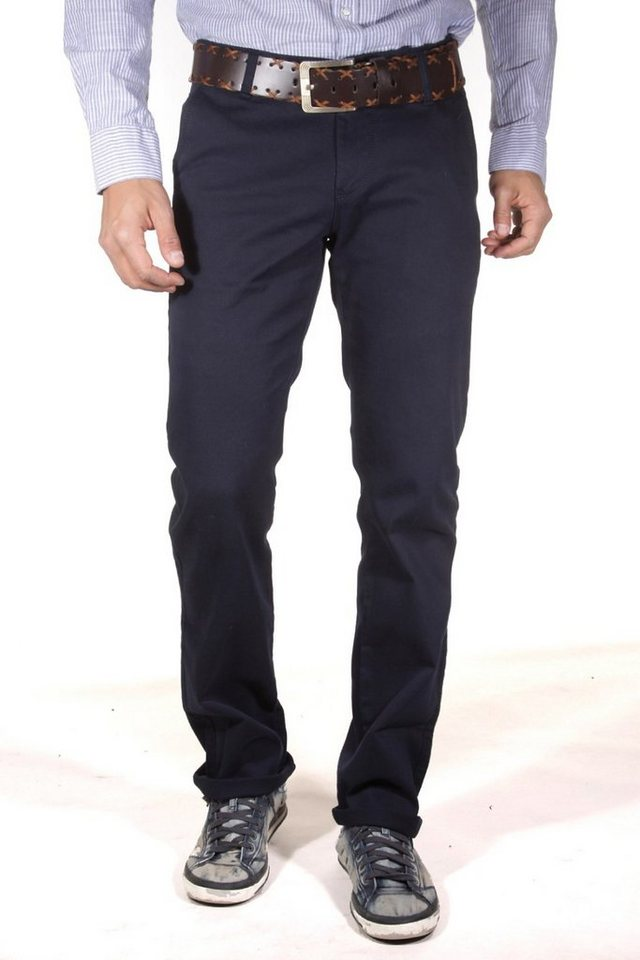 DIFFER Stretchhose regular fit in navy