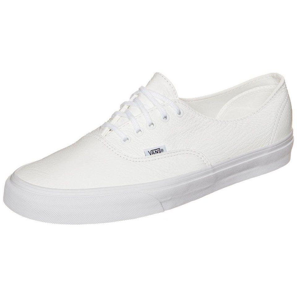 VANS Authentic Decon Premium Leather Sneaker in weiß