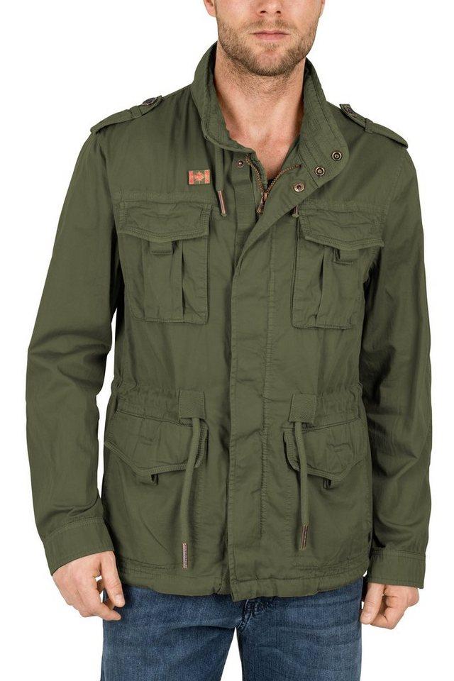 Redpoint Fieldjacket »Jarell« in dk. olive