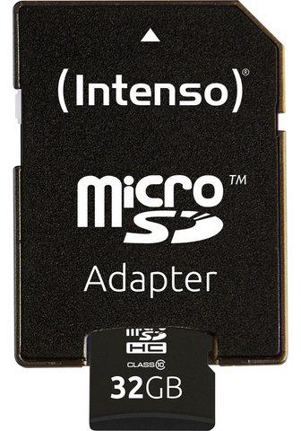 Intenso »microSDHC Class 10 + SD-Adapter« Spei...