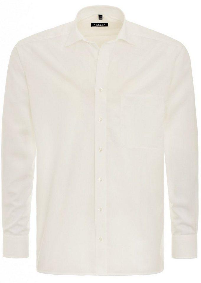 ETERNA Langarm Hemd »COMFORT FIT« in beige