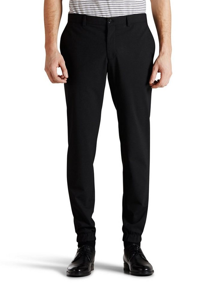 Jack & Jones Taillierte Hose in Dark Grey