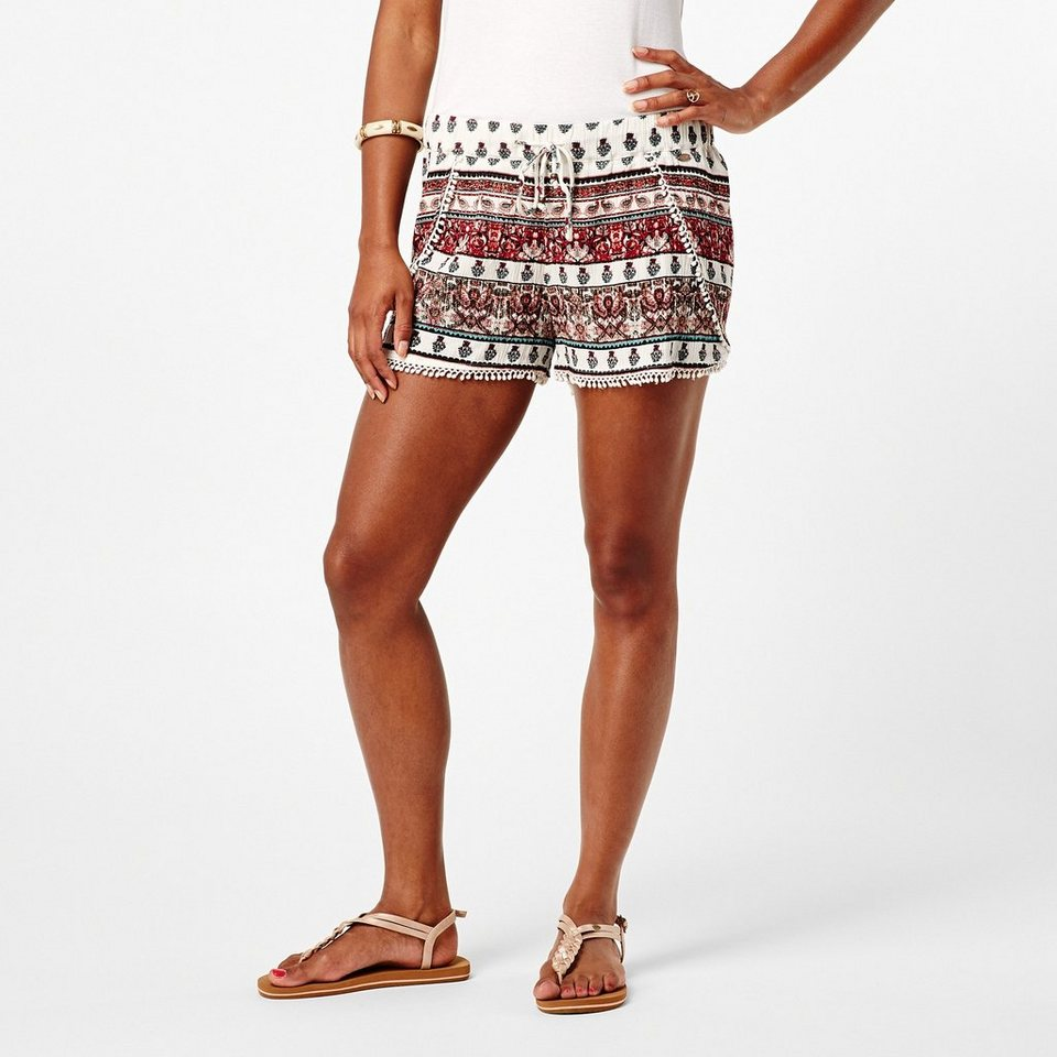 O'Neill Shorts »Carpet« in Weiss/rose/lila