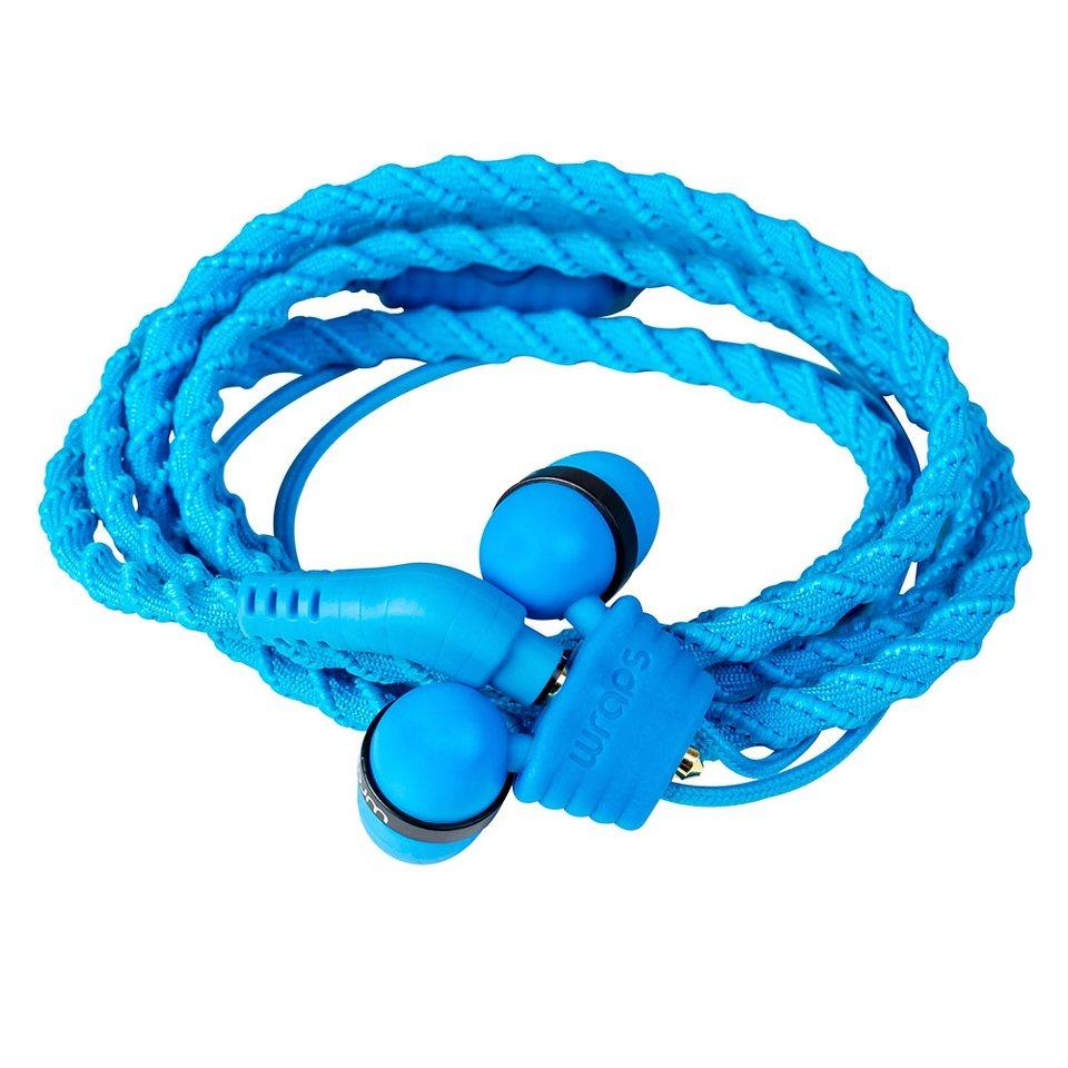 Midbass Headset »TALK Wrap Blue w/Mic« in blau