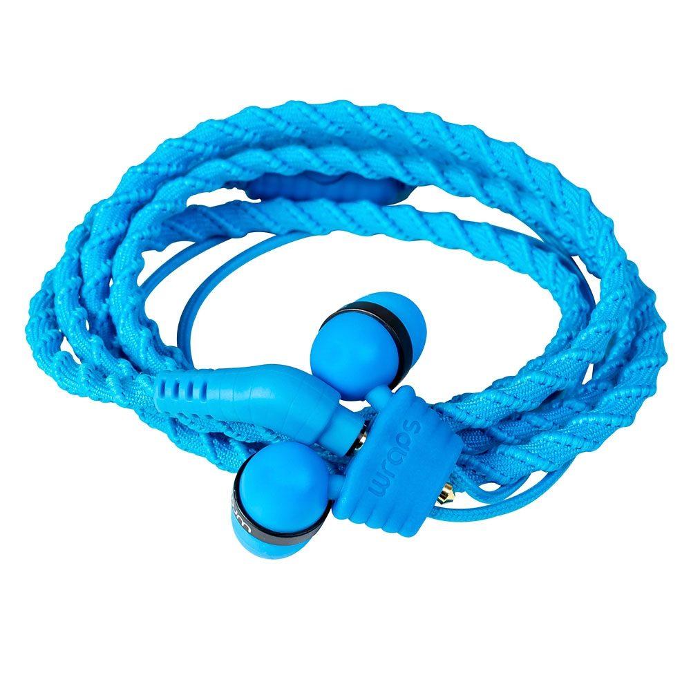 Midbass Headset »TALK Wrap Blue w/Mic«