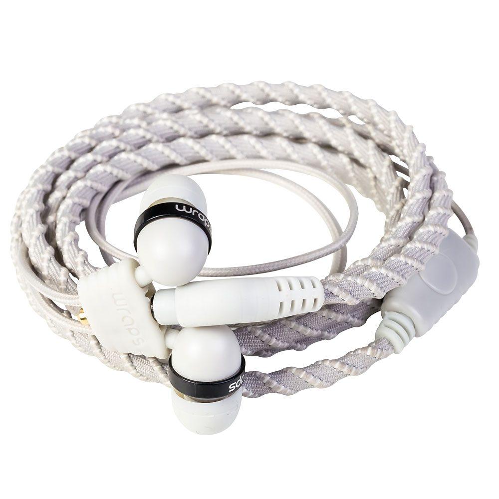 Midbass Headset »TALK Wrap Silver w/Mic«
