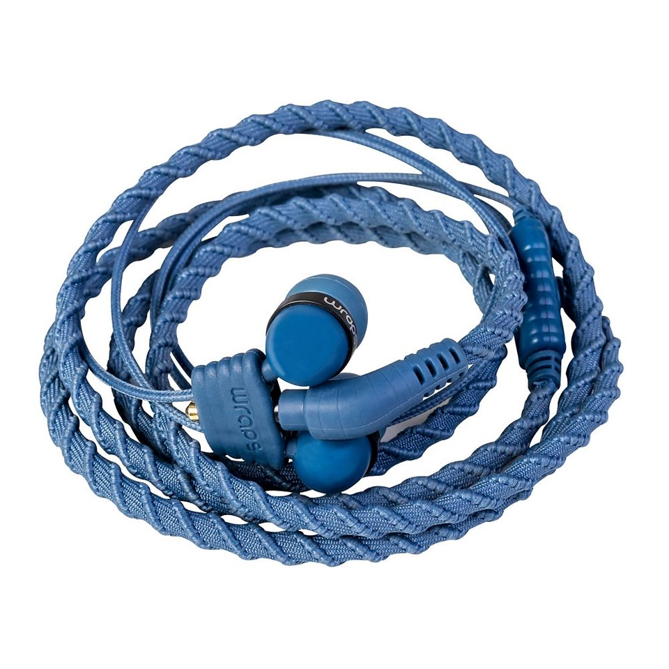 Midbass Headset »TALK Wrap Denim w/Mic« in blau