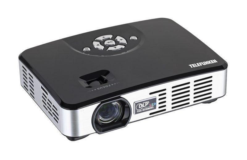 Telefunken Mini-LED-Projektor »DLP500«