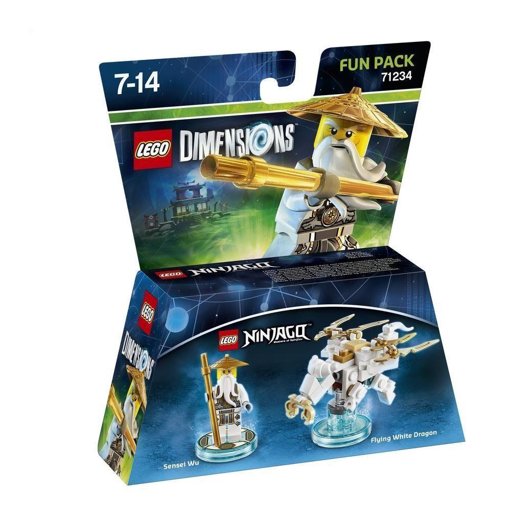 Warner Games Fanartikel »Lego Dimensions Fun Pack Ninjago - Sensei Wu«
