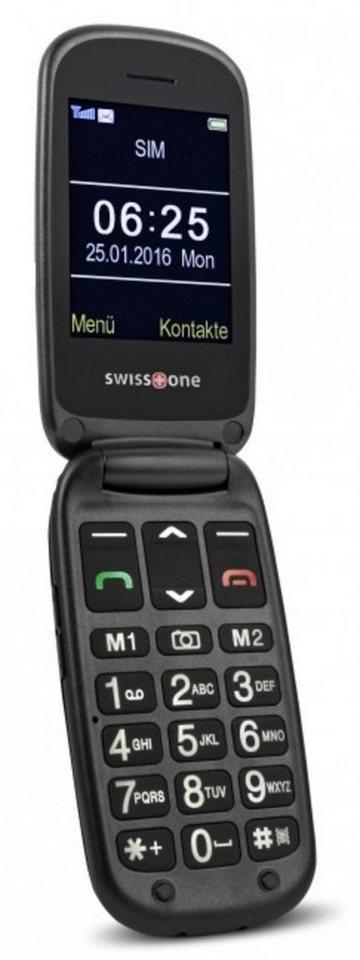 swisstone Handy »BBM 625« in Schwarz