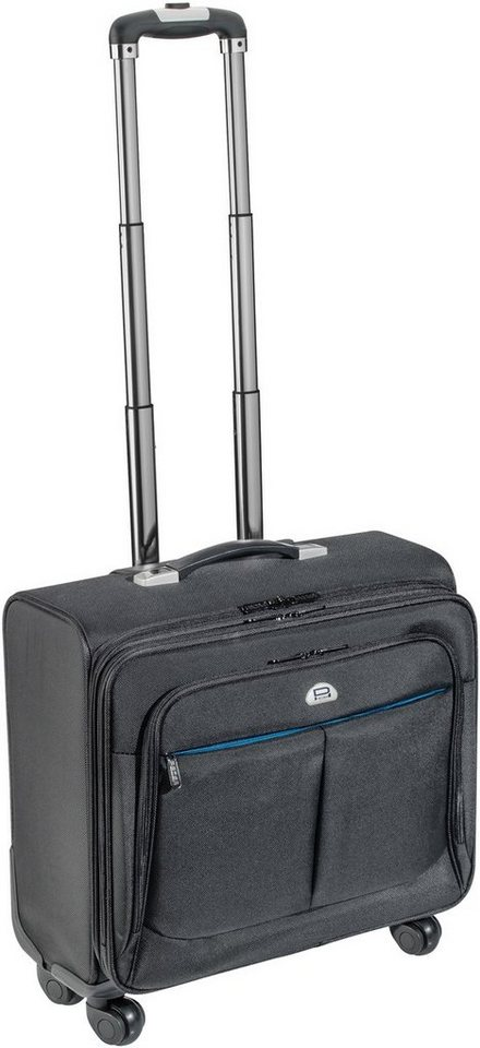 "PEDEA Notebooktasche »Notebook Trolley Premium (15,6""/17,3""/43,9cm)« in Schwarz"