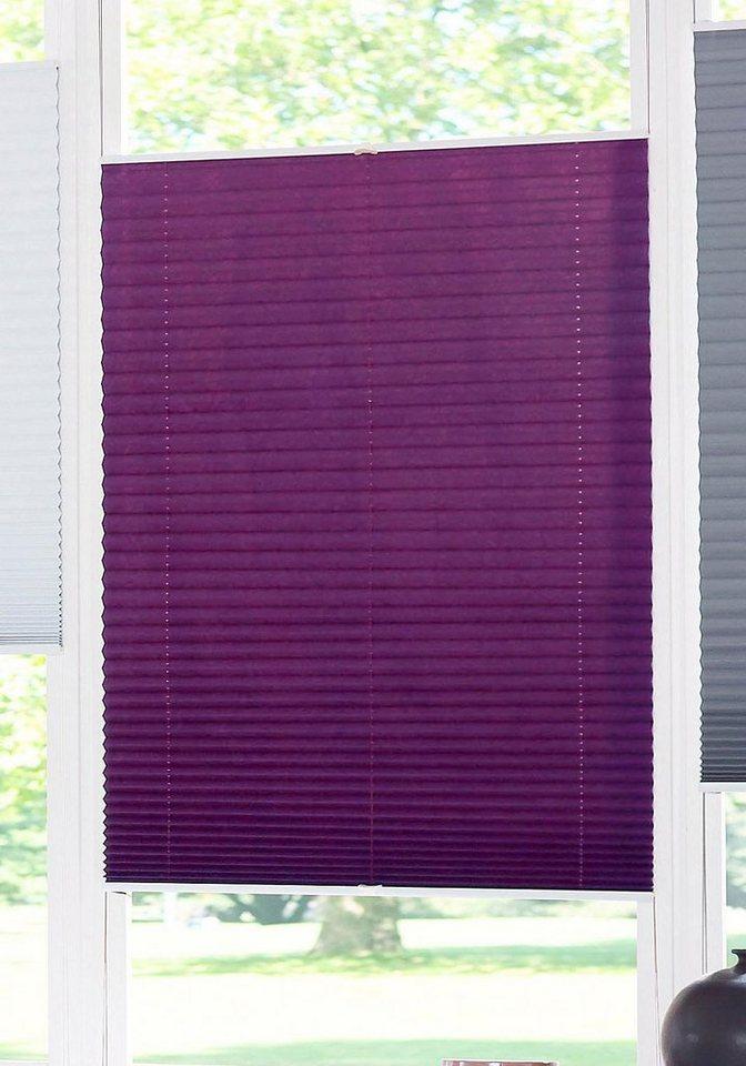 plissee dahra my home lichtschutz ohne bohren verspannt online kaufen otto. Black Bedroom Furniture Sets. Home Design Ideas
