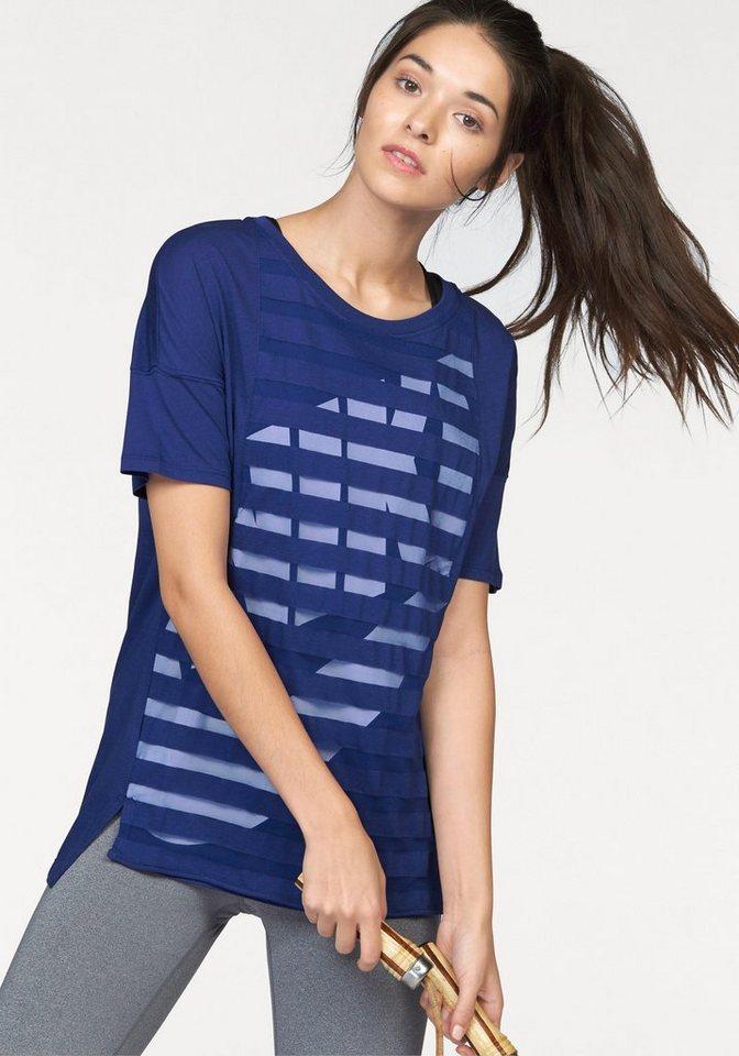 Nike Sportswear TEE-STRIPE T-Shirt in Blau
