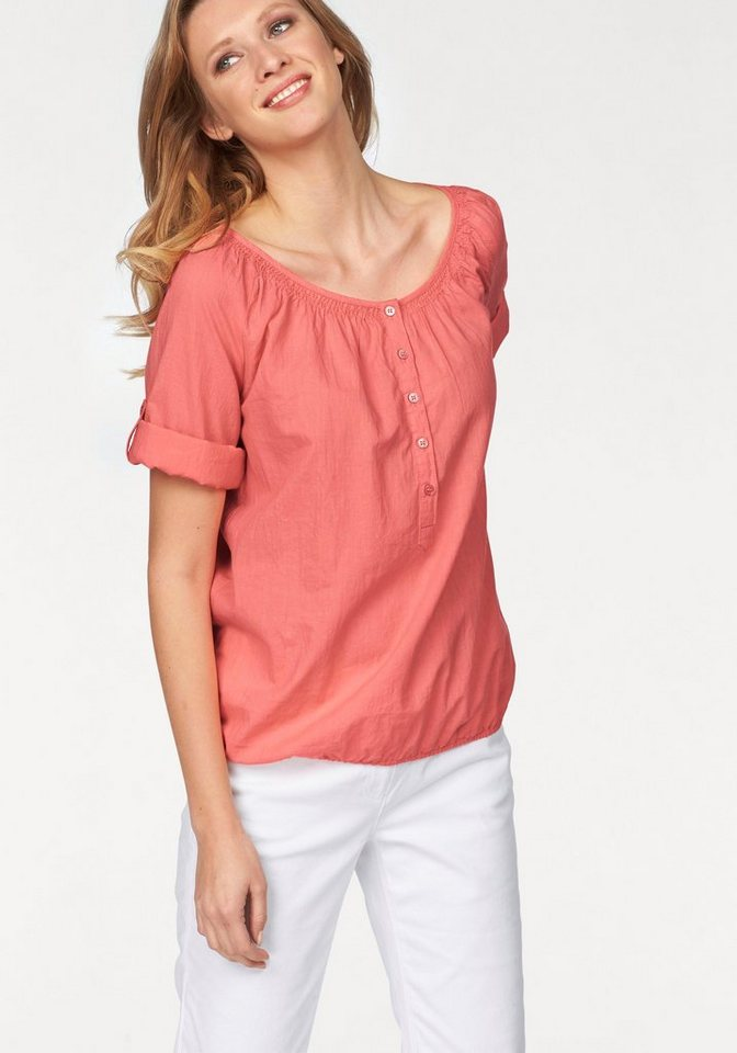 Corley Shirtbluse in koralle