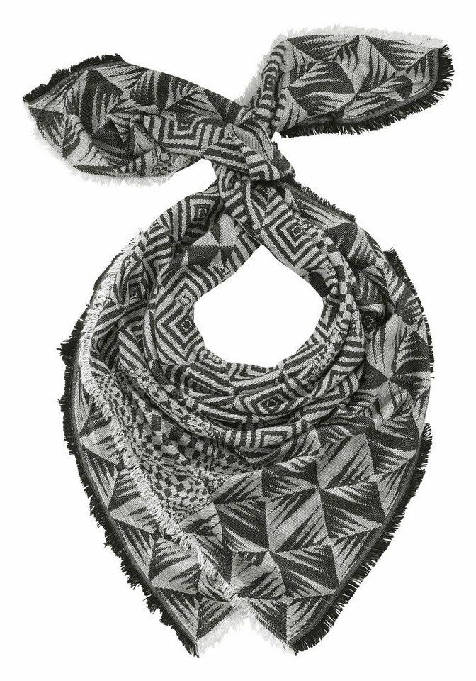 J. Jayz Modetuch im attraktiven Mustermix in schwarz-weiß