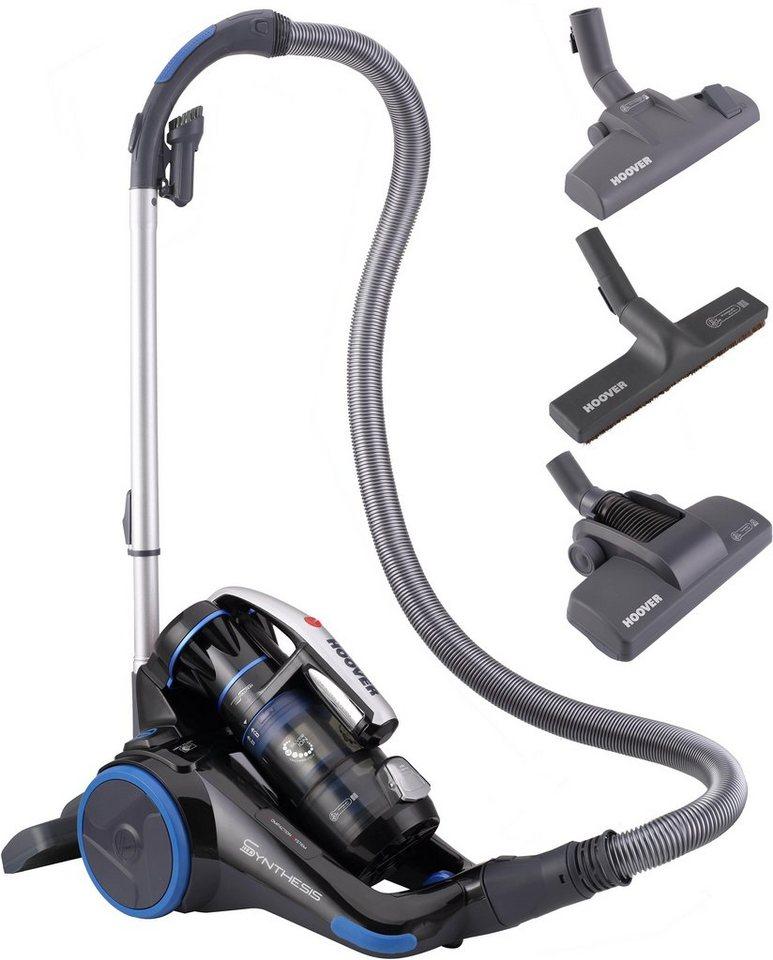 Hoover Bodenstaubsauger Synthesis ST71_ST10, beutellos, Energieklasse A in schwarz / blau