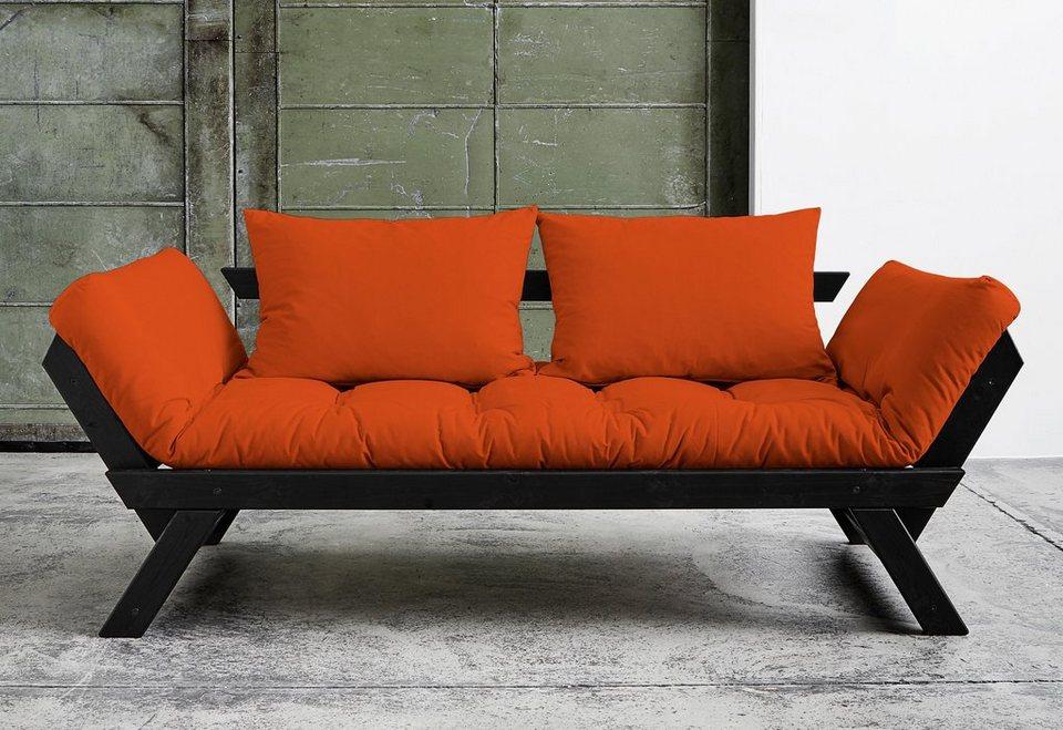 Schlafsofa, Karup in orange
