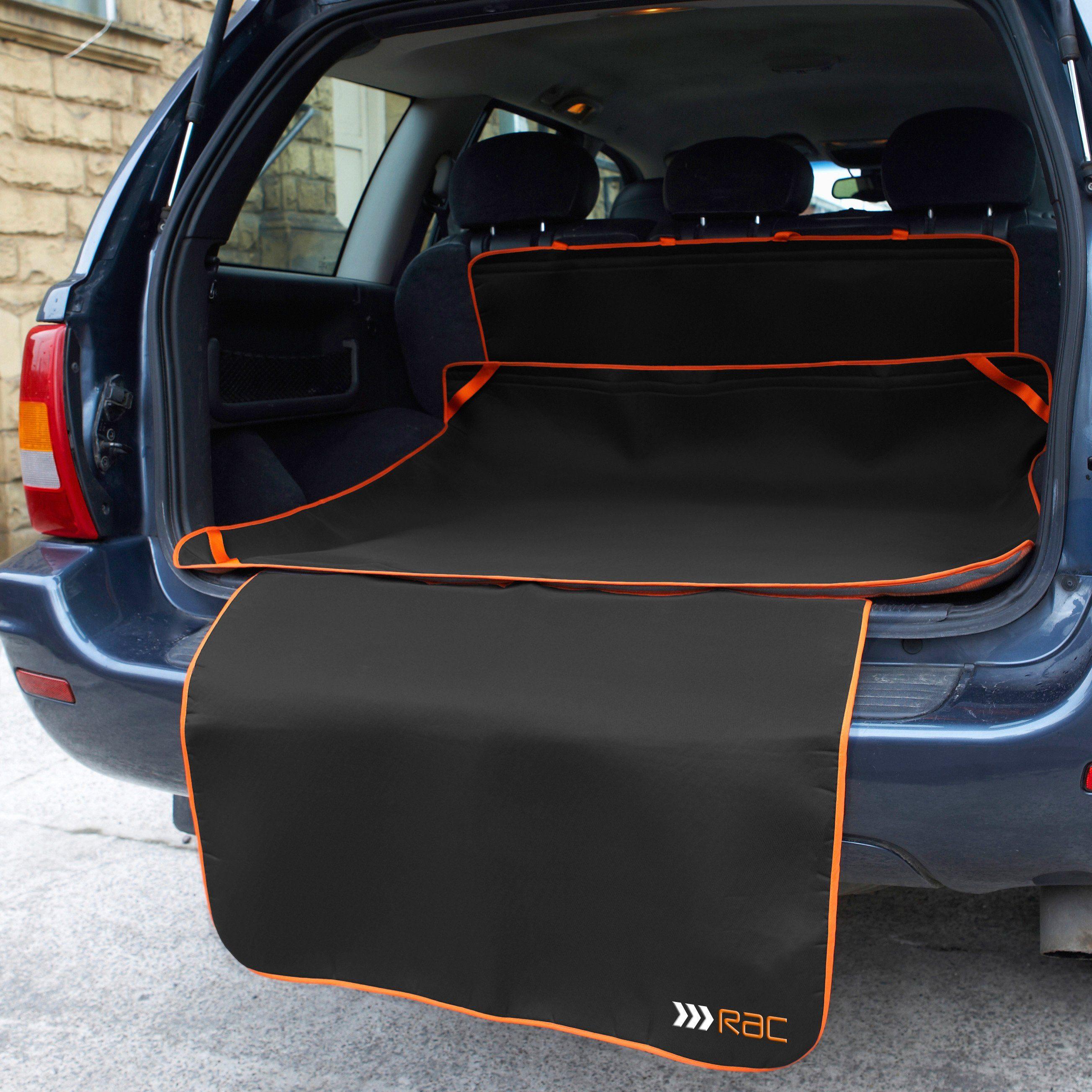 Automatte »RAC Kofferraummatte mit Stoßstangenschutz«