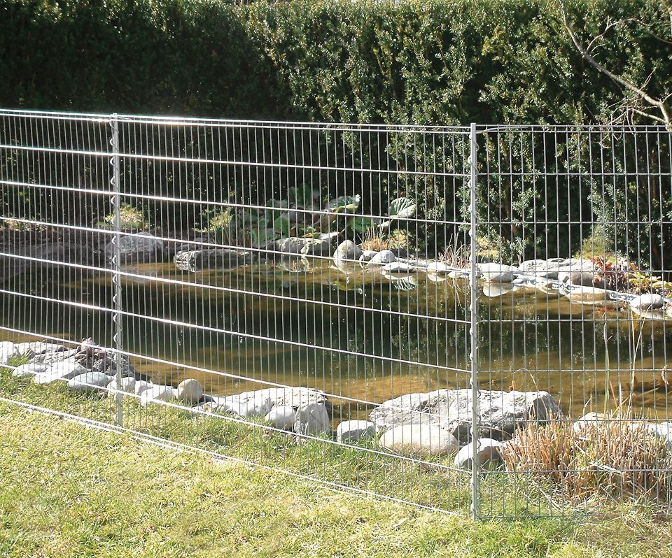 Zaun »Teichschutz - 7,10 m «