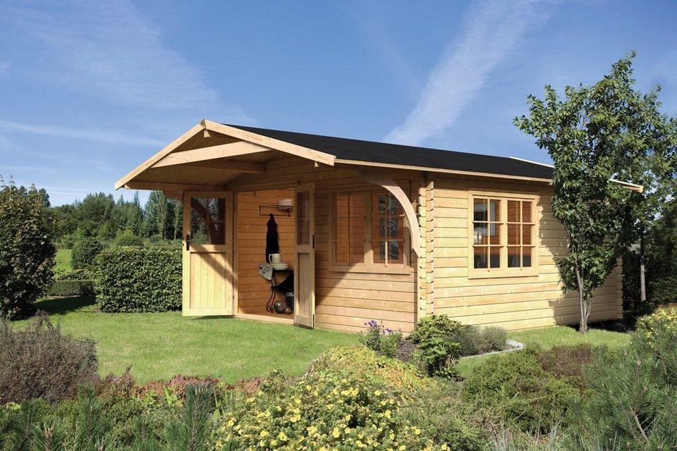 Set gartenhaus hardenberg 2 bxt 400x400 cm otto for Fenster 400x400