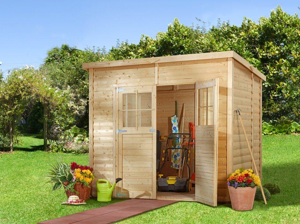 Gartenhaus »Alster 3«, BxT: 239x181 cm in natur