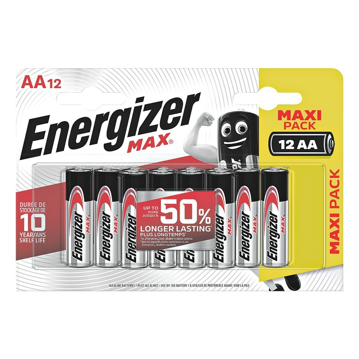 Energizer 12er-Pack Batterien »Max Alkaline« Mignon / AA / LR06
