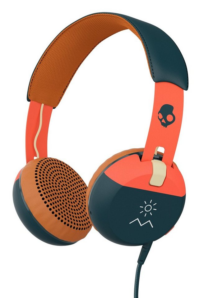 Skullcandy Headset »GRIND ON-EAR W/TAP TECH EXPLORE/ORANGE/NAVY« in schwarz