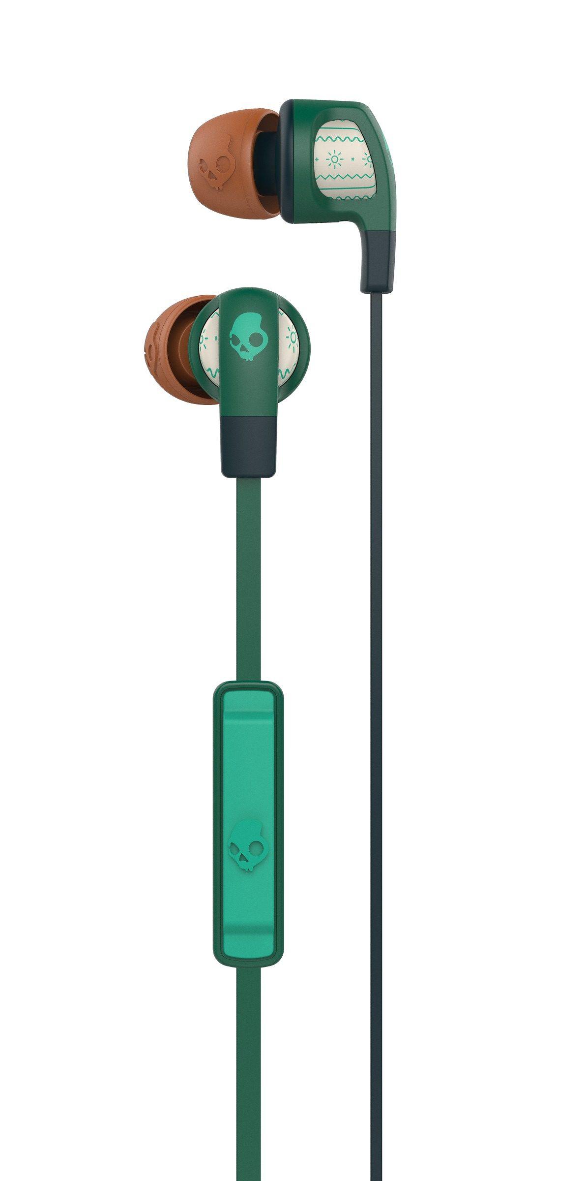 Skullcandy Headset »SMOKIN BUD 2 IN-EAR W/MIC 1 EXPLORER/FOREST/GREEN«