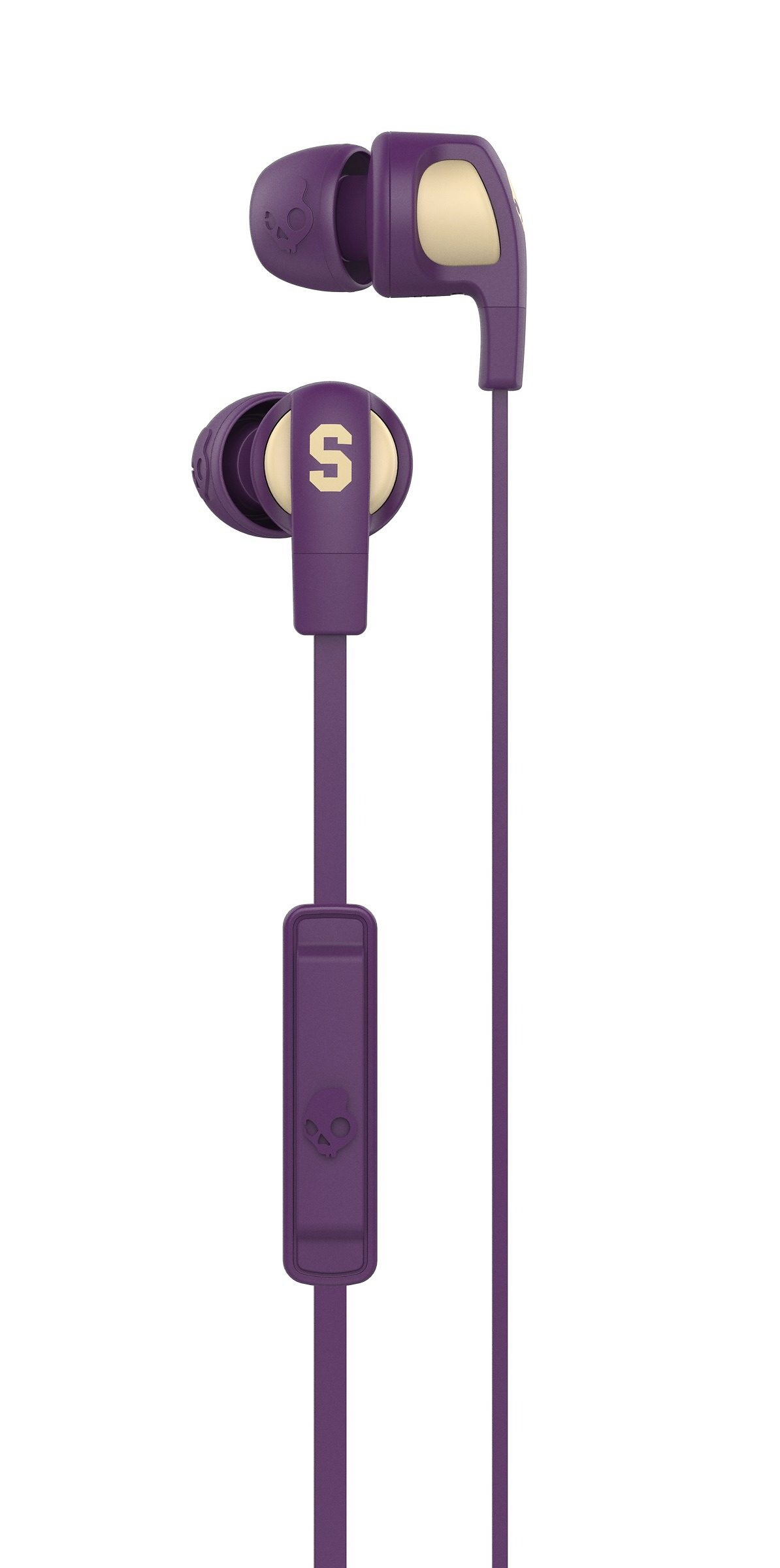 Skullcandy Headset »SMOKIN BUD 2 IN-EAR W/MIC 1 ILL FAMED/PURPLE/CREAM«