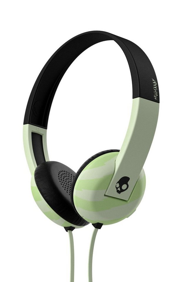 Skullcandy Headset »UPROAR ON-EAR W/TAP TECH LOCALS ONLY/GITD/BLACK« in schwarz