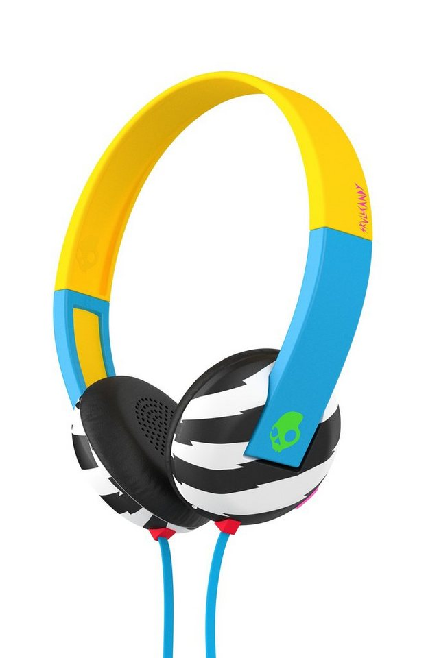Skullcandy Headset »UPROAR ON-EAR W/TAP TECH LOCALS ONLY/BLUE/GREEN« in mehrfarbig