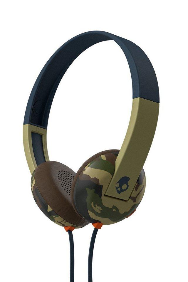 Skullcandy Headset »UPROAR ON-EAR W/TAP TECH CAMO/SLATE/NAVY« in mehrfarbig