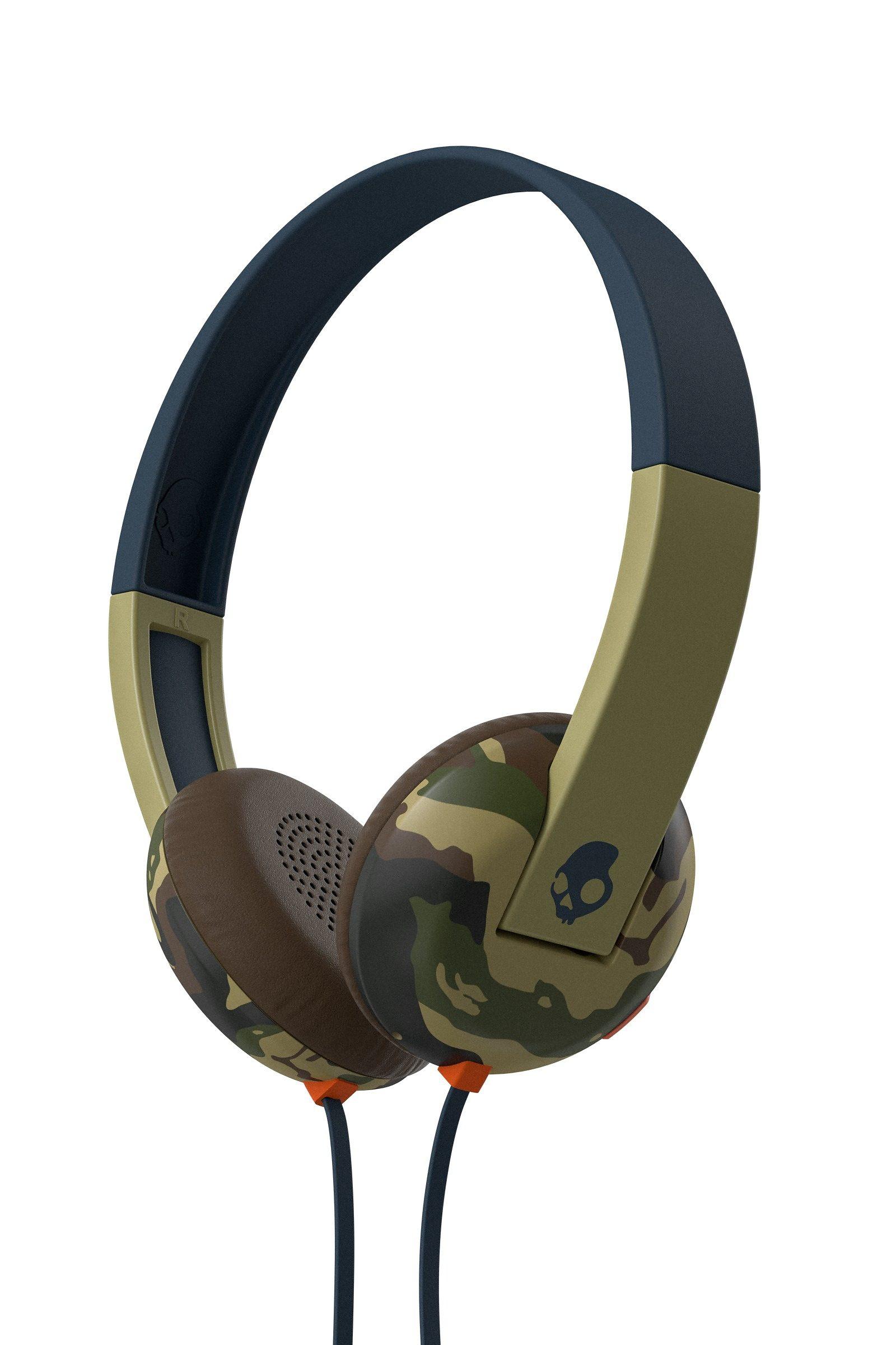 Skullcandy Headset »UPROAR ON-EAR W/TAP TECH CAMO/SLATE/NAVY«