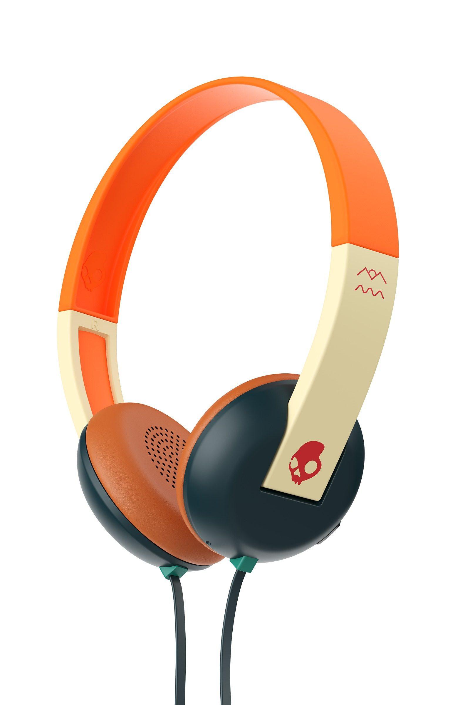 Skullcandy Headset »UPROAR ON-EAR W/TAP TECH EXPLORE/GREEN/RED«